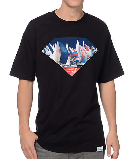 Diamond Supply Co Yacht Club Excellence Black T-Shirt