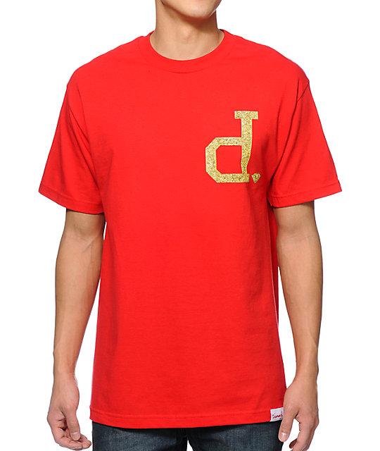 Diamond Supply Co x Ben Baller Unpolo Red T-Shirt