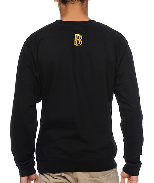 Diamond Supply Co x Ben Baller x Grizzly Black Crew Neck Sweatshirt