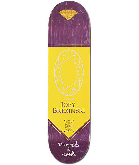 "Diamond Supply Co x Cliche Brezinski 8.1""  Skateboard Deck"