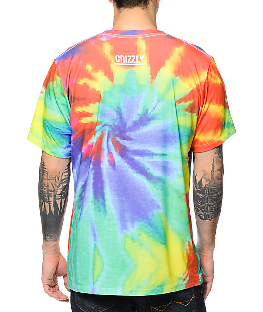 Diamond Supply Co x Grizzly Digi Tie Dye T-Shirt