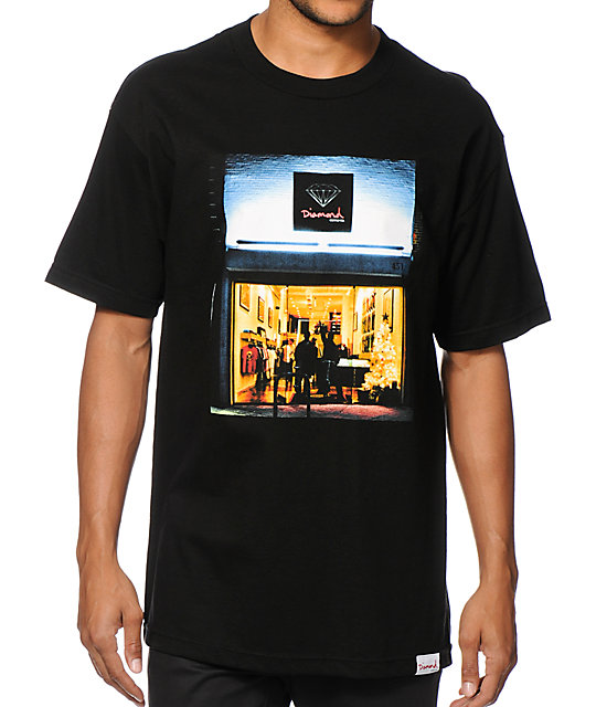 Diamond Supply Co. 541 Black T-Shirt