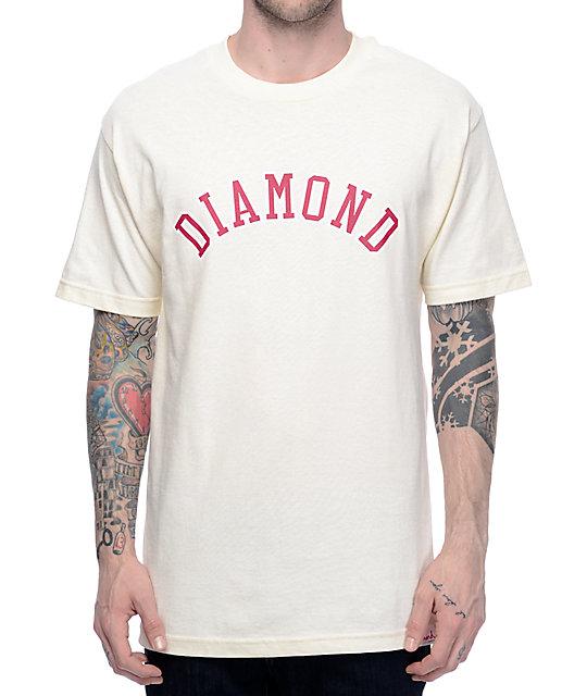Diamond Supply Co. Arc Cream T-Shirt