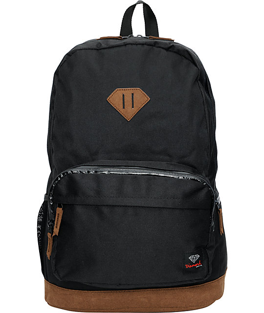 Diamond Supply Co. Black & Brown School Life Backpack