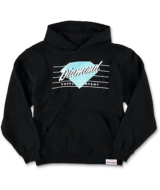 Diamond Supply Co. Boys Champs Black Hoodie