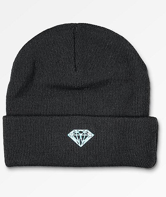 Diamond Supply Co. Brilliant Black Beanie