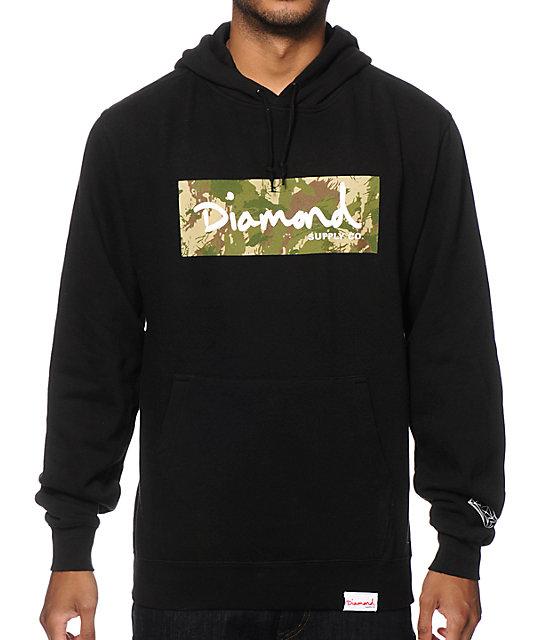 Diamond Supply Co. Camo Box Logo Hoodie at Zumiez : PDP - photo#21