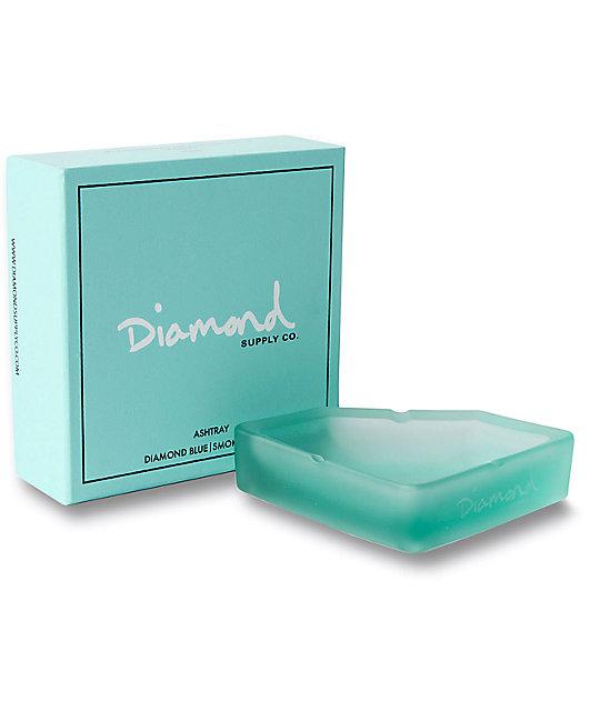 Diamond Supply Co. Diamond Blue Frosted Ash Tray