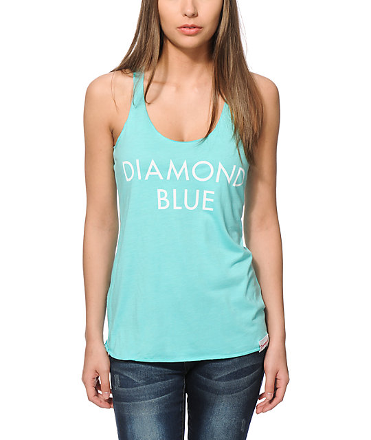Diamond Supply Co. Diamond Blue Tank Top