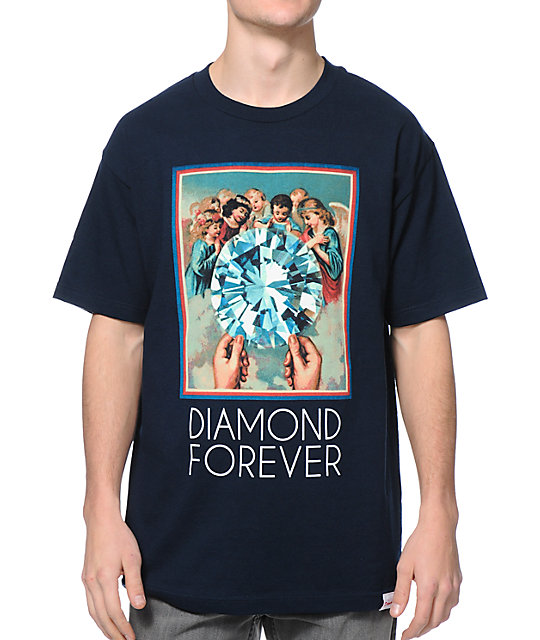 Diamond Supply Co. Diamond Forever Navy T-Shirt