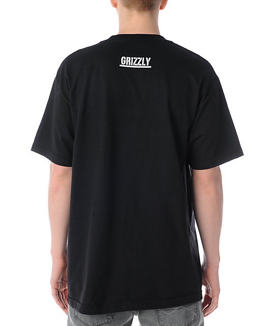 Diamond Supply Co. Grizzly Grip Mascot Black T-Shirt