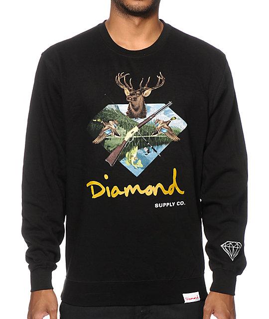 Diamond Supply Co. Hunters Club Crew Neck Sweatshirt - photo#12