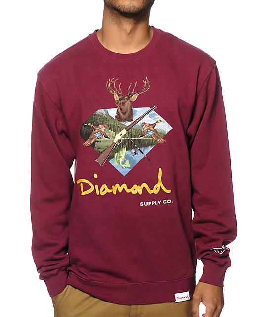 Diamond Supply Co. Hunters Club Crew Neck Sweatshirt at ... - photo#42