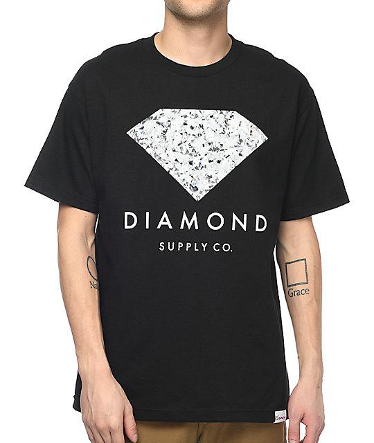 diamond supply co infinite black tshirt zumiez