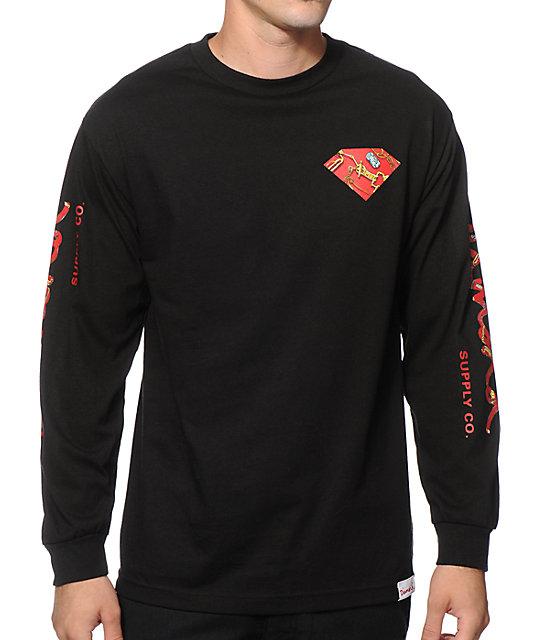 Diamond Supply Co. Low Life Long Sleeve T-Shirt