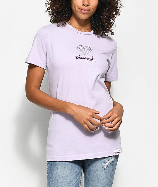 Diamond Supply Co. Mini OG Lavender T-Shirt