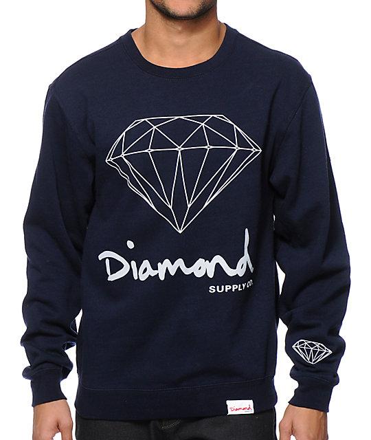 Diamond Supply Co. OG Brilliant Crew Neck Sweatshirt - photo#12