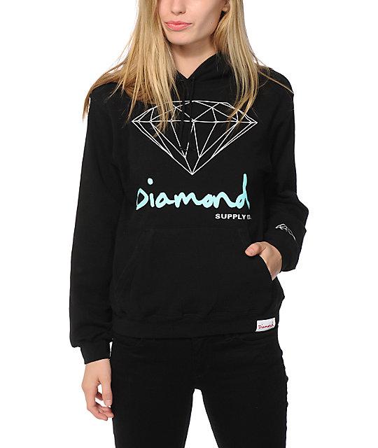 Diamond Supply Co. OG Script Hoodie | Zumiez - photo#38