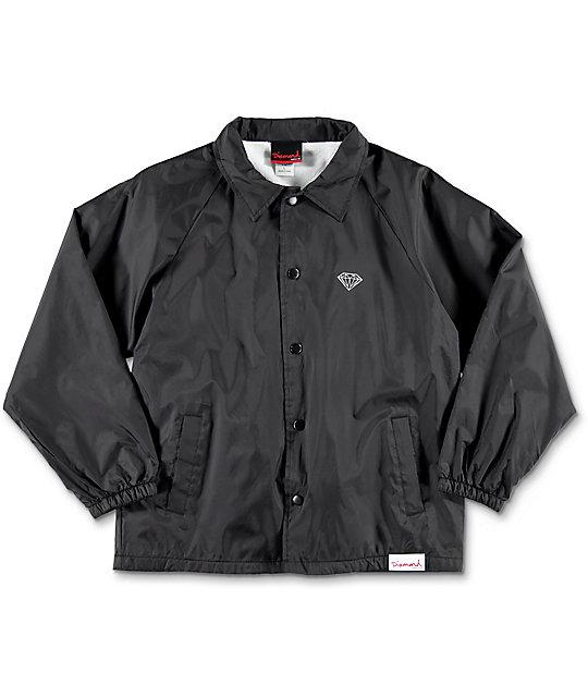 Diamond Supply Co. OG Sign Boys Black Coaches Jacket