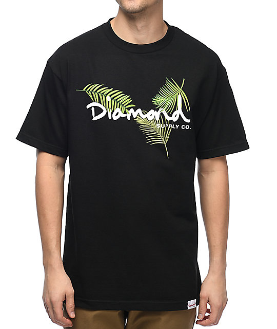 Diamond Supply Co. Paradise OG Script Black T-Shirt