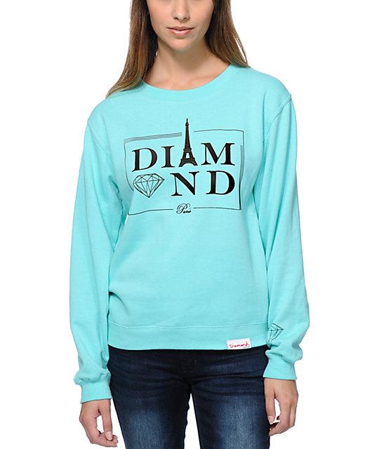 Diamond Supply Co. Paris Crew Neck Sweatshirt