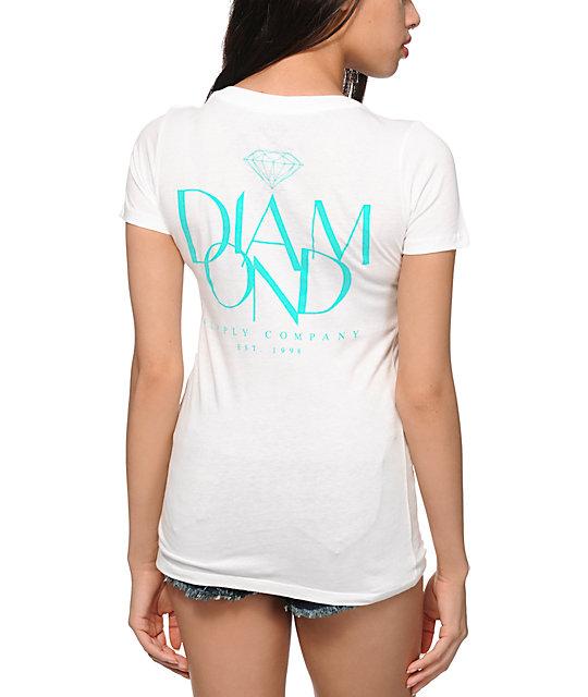 Diamond Supply Co. Parisian V-Neck T-Shirt