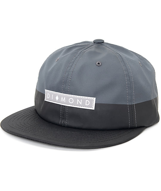 Diamond Supply Co. Peruzzi  Grey Baseball Hat