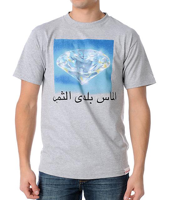 Diamond Supply Co. Precious Country Grey T-Shirt