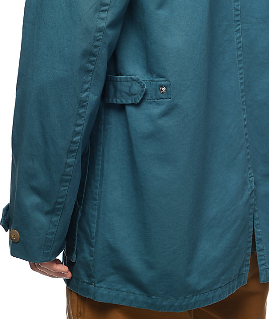 Diamond Supply Co. Recon Fishtail Teal Parka Jacket