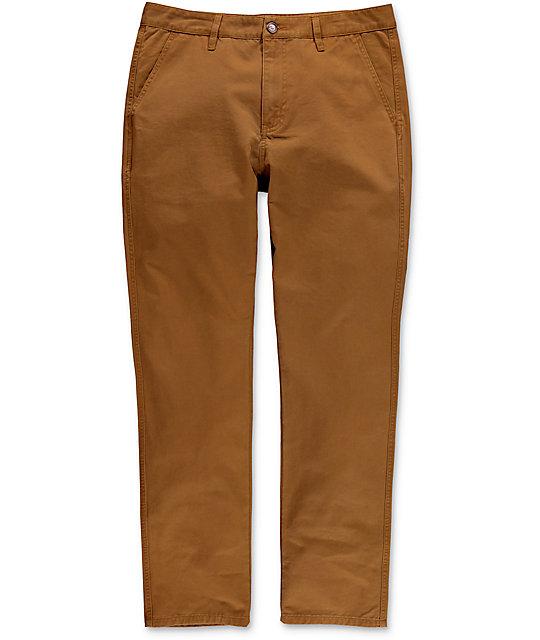 Diamond Supply Co. Speedway pantalones marrones