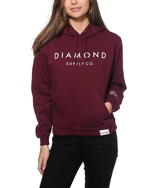 Diamond Supply Co. Stone Cut Hoodie