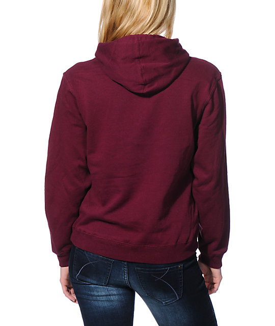 Diamond Supply Co. Supply Co Dark Red Pullover Hoodie