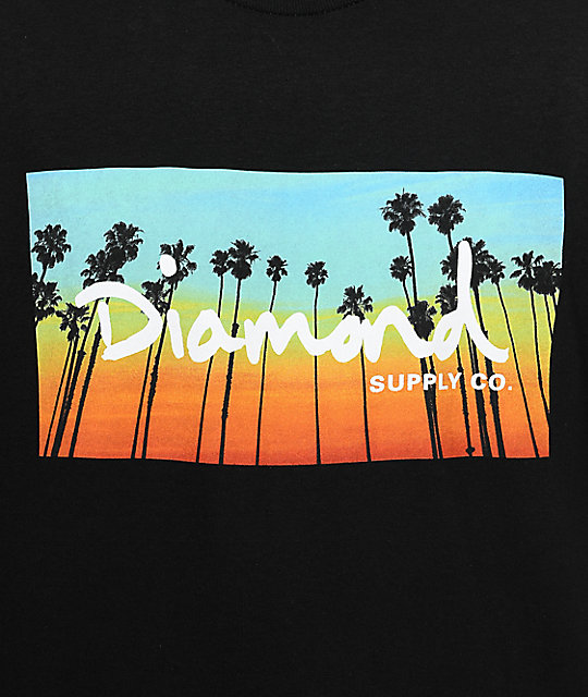Diamond Supply Co. Twilight Black T-Shirt