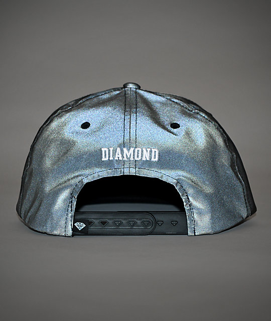 Diamond Supply Co. Un Polo Reflective Snapback Hat