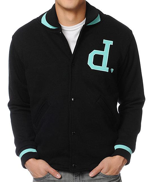 Diamond Supply Co. Unpolo Black Varsity Jacket