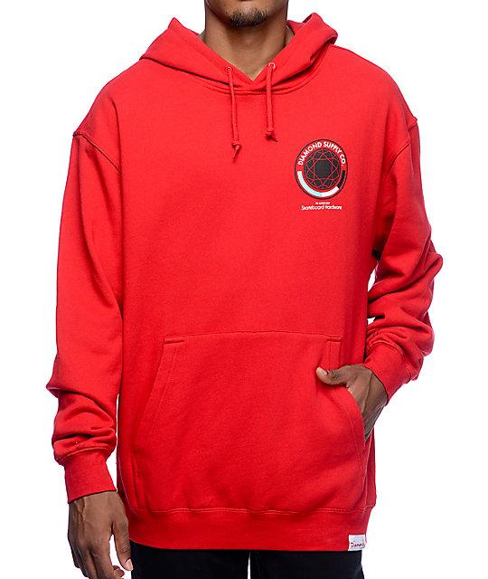 Diamond Supply Co. World's Best Red Pullover Hoodie | Zumiez