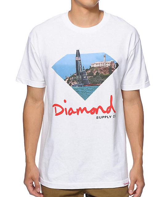 Diamond supply co ycsf t shirt for Wholesale diamond supply co shirts