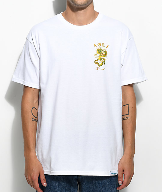 Diamond Supply Co. x Steve Aoki White T-Shirt