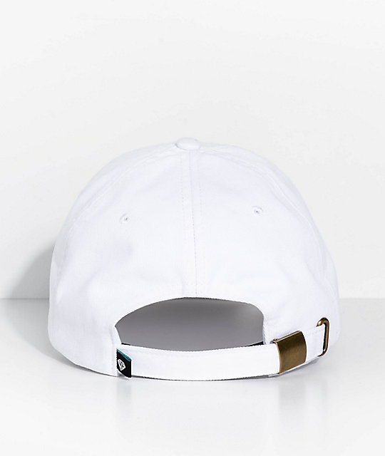 Diamond Supply Co. x The Beatles Yellow Submarine Nothing Is Real White Strapback Hat