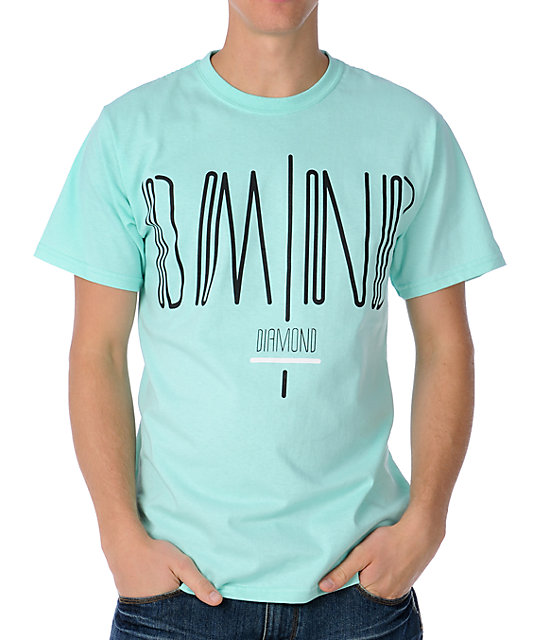 Diamond Supply Coda Aqua T-Shirt