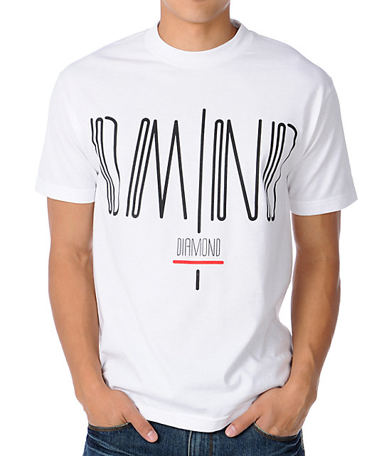 Diamond Supply Coda White T-Shirt