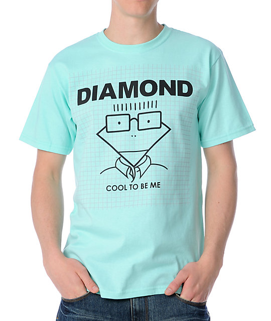 Diamond Supply Cool To Be Me Mint T-Shirt