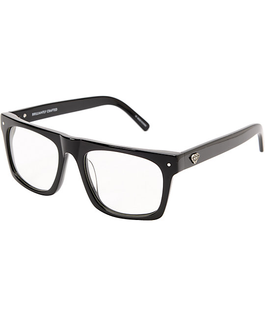 Diamond Supply Cordova Black Glasses