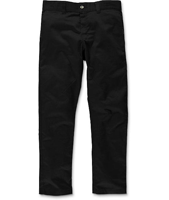 Dickies 67 Black Twill Dropped Taper Fit Pants