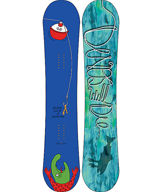 Dinosaurs Will Die Maet 155cm Snowboard