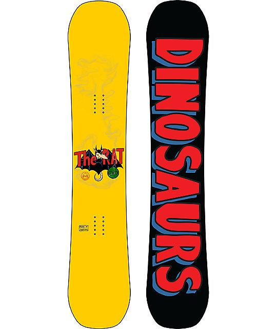 Dinosaurs Will Die Rat 155cm Snowboard