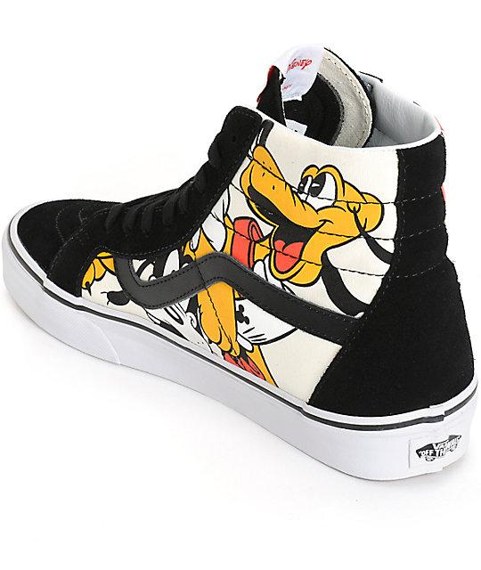Disney X Vans Sk Hi Mickey Friends Skate Shoes