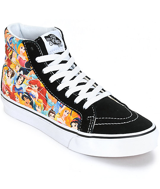 Disney x Vans Sk8-Hi Slim Disney Princess Shoes (Womens)