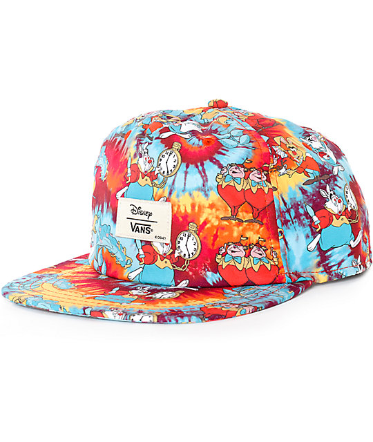 Disney X Vans Wonderland Snapback Hat At Zumiez Pdp