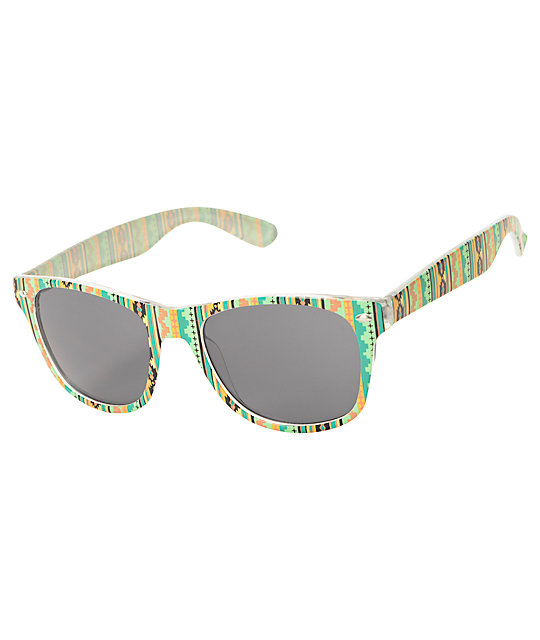 Distract Muted Aztec Sunglasses